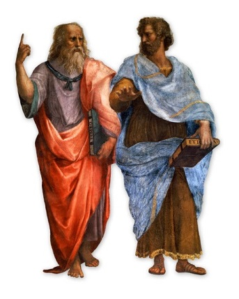 Image result for plato and aristotle