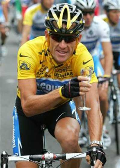 Dreaming Lance Armstrong